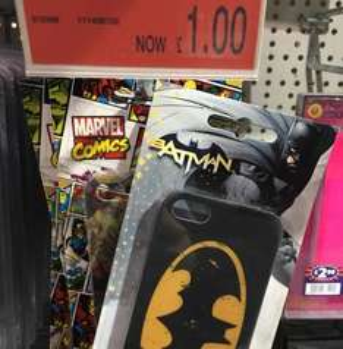 iPhone 5/5s Batman/Marvel/Star Wars Cases £1 instore @ B&M
