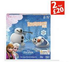 Frozen Frustration was £17.99 now £5.99 @ Argos free click and collect