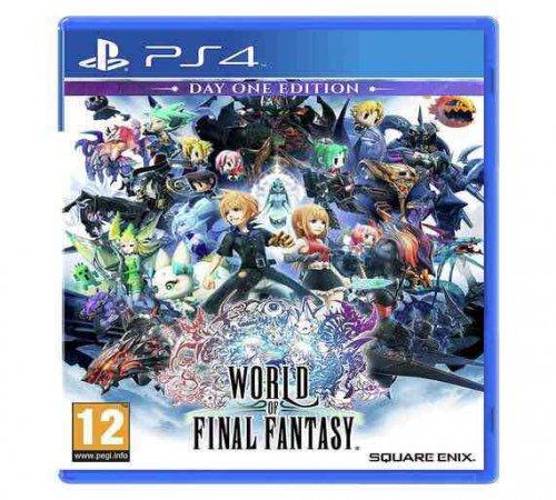 World of Final Fantasy PS4 - Day 1 - £24.99 - Argos