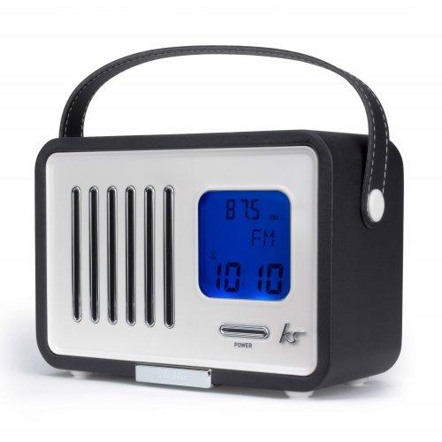 KitSound Swing FM Radio with Alarm Clock Black £19.98 at Vodafone Stores EBAY