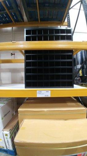 montezuma 72 compartment bolt bin £23.97 instore at costco