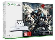 Xbox One S 1TB + Gears of War 4 + Ghost Recon Wildlands + 2 Controllers £310.98 Tesco Direct