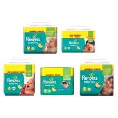 2 For £20 On Selected Pampers Jumbo Packs at boots
