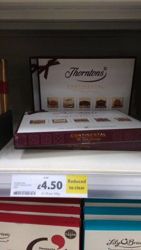 Thornton's continental box £4.50 instore @ tesco