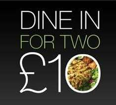 M&S Dine in for two plus free wine £10.00  8-14 March