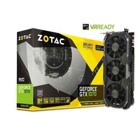 Zotac GTX 1070 AMP Extreme Edition - Open Box £340 AWD-IT