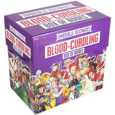 Horrible Histories Blood Curdling Book Box (20 books) for £17 (with code) @ TheWorks
