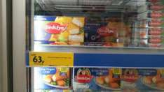 Birds Eye 12 Haddock Fish Fingers 63p down from £2.50 in Morrisons