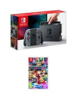 Nintendo Switch & Mario Kart 8 Deluxe - £291.88 (with code) @ Very