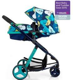 Cosatto Woop 2 in 1 Pushchair + FREE Cosatto Hold Group 0+ Car Seat - £384.96 @ Direct2Mum