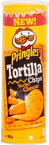 Pringles Tortilla Chips Nacho Cheese / Sour Cream / Spicy Chilli / Smokey BBQ (180g) was £1.25 now £1.00 (Rollback Deal) @ Asda