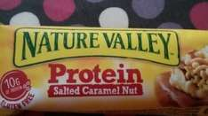 Nature Valley Protein Salted Caramel Nut £1 Poundland. usually £2.89