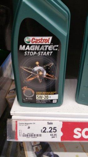 Castrol Magnatec 5W-20E at Asda instore was £9