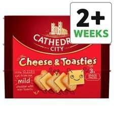 Cathedral Cheese & Toasties £1 at TESCO