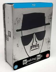 Breaking Bad - Complete Series Collector's Edition Tin[Blu-ray+UV Copy] (Includes S1 DVD) £19.99 in store @ Hmv PURE MEMBERS ONLY