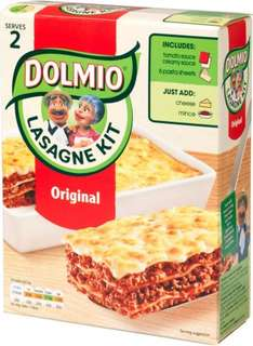 Dolmio Lasagne Meal Kit Original 525g was £2.99 now £1.99 @ Ocado