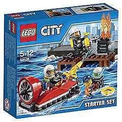 Lego city 60106 starter set £5.99 @ Tesco online and instore.