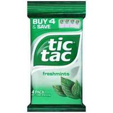 4 pack of tic tacs mint flavour £1 instore @ poundland