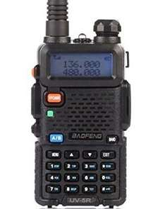 BaoFeng UV-5R 136-174/400-480 MHz Radio £20.27 delivered Sold by SZEKEI and Fulfilled by Amazon.