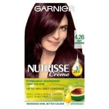 Garnier Nutrisse Creme 4.26 Deep Burgundy Any 3 for 2 Cheapest Product Free Tesco