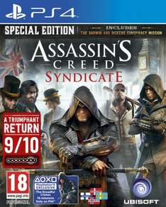 Assassin's Creed: Syndicate - Special Edition (Nordic) PS4 £12.95 Coolshop