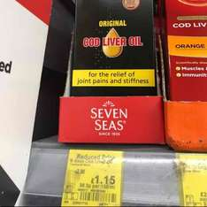 Seven Seas Cod Liver Oil 300ml - £1.15 instore @ ASDA