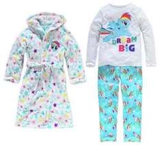 My Little Pony dressing gown and pj set now £15 @ argos