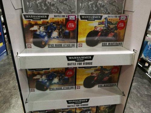 Warhammer 40k Space Marine Attack Bike/Ork Wartrakk - £7.99 instore @ Game