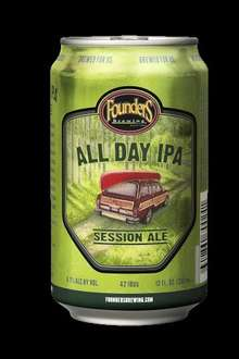 Founders All Day IPA (can) Beer 330ml @ M&S £1.20 usually £2.20