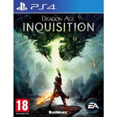 DRAGON AGE: INQUISITION PS4 £9.99 @ The Game collection