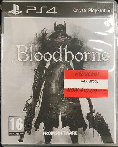Bloodborne / Until Dawn PS4 £10 Instore @ Asda