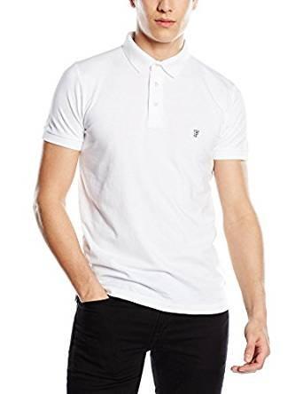 French Connection Men's Basic Sneezy white Polo Shirt Size S,M,L,XL £7.50 (Prime) / £11.49 (non Prime) at Amazon & free returns