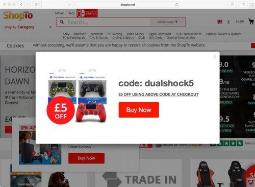 DualShock 4 V2 Controller: £34.85 With Code @ Shopto