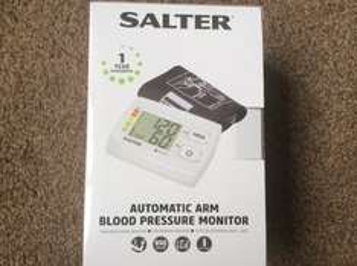 Salter automatic arm blood pressure monitor £1.88 Asda - Warrington