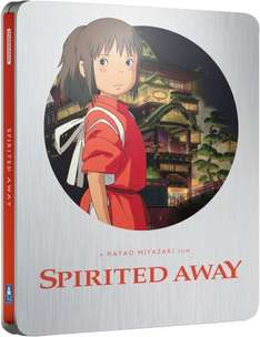Spirited Away Bluray Steelbook - £15.99 Zavvi
