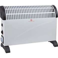 2kW Convector Heater with Timer £9.97 @ Homebase Free C&C