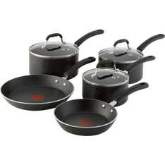 Tefal 5 Piece Non Stick pan set riveted £40 @ Tesco in store/online
