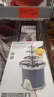 chocolate fountain reduced £7.99 from £19.99 aldi instore