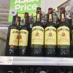 Jameson instore at Asda for £15 70cl