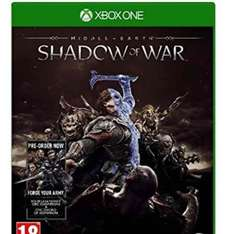 Shadow of War - Xbox one and PS4 - preorder £39.99 @ Base.com