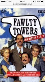 Fawlty Towers complete collection DVD (used) £1.59 @ music magpie