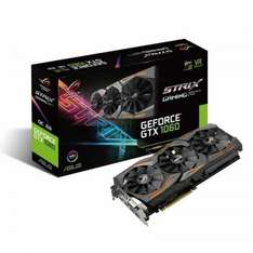 Asus GeForce GTX 1060 STRIX GAMING 6GB GDDR5 Dual-Link DVI-D HDMI 3x DisplayPort PCI-E Graphics Card £279.98 @ Ebuyer