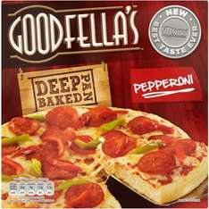 Goodfella's Deep Pan Baked Goodfella's Meat Feast Deep Pan Baked Pizza (414g) / Loaded Cheese (417g) / Pepperoni (419g) was £2.00 now £1.25 @ Asda