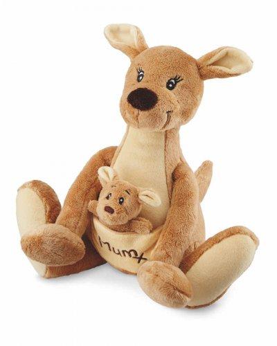 Super cute mother & baby plush (kangaroo, bear, elephant, panda) for Mother's Day £3.99 @ Aldi