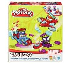 Play-Doh Marvel Can-Heads Vehicles £2 @ smyths toys instore and online was £7.49