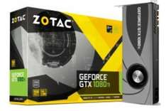 """Geforce GTX 1080Ti """"Blower Edition"""" 11264MB GDDR5X PCI-Express Graphics Card (ZT-P10810B-10P) cheapest and free delivery (pre order) £689.99 @ Overclockers"""