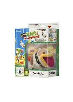 Poochy and Yoshi's Woolly World - Amiibo Bundle (3DS) £38.29 @ Base