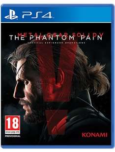 Metal Gear Solid V pre-owned (PS4) £9.74 and more reduced @Game