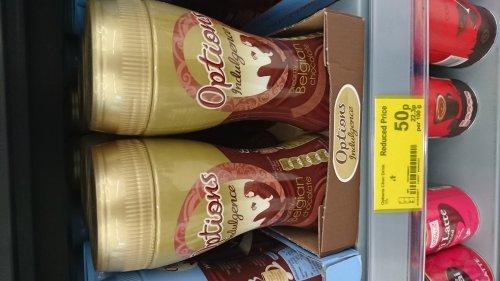 Options Belgian hot chocolate, Asda in store (Bridgend) for 50p