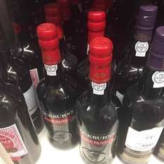 Cockburns ruby port 75cl at Sainsburys for £6.45